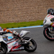 Pilots Tatasciore and  Tejero  of 125cc in the CEV — Stock Photo
