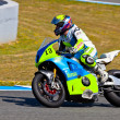Moto2 pilot Renaud Binoche of the CEV Championship - Stock Photo