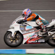 Stock Photo: Cristobal Tejero pilot of 125cc in CEV
