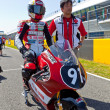 Mori Syunya pilot of 125cc  of the CEV Championship — Stockfoto