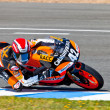 Alex Rins pilot of 125cc  of the CEV Championship — Stock Photo