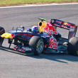 Team Red Bull Racing F1, Mark Webber, 2011 — Stock Photo