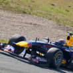 Team Red Bull Racing F1, Mark Webber, 2011 — Stock Photo #8058954