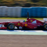 Team Ferrari F1, Felipe Massa, 2011 — Stock Photo #8059069