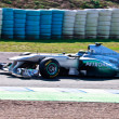 Team Mercedes F1, Nico Rosberg, 2011 - Stock Photo