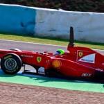 Team Ferrari F1, Felipe Massa, 2011 — Stock Photo #8059129