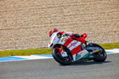 Stefan Bradl pilot of Moto2 in the MotoGP — Stock Photo