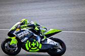 Andrea Iannone pilot of Moto2 in the MotoGP — Stock Photo