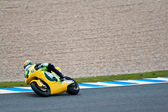 西蒙妮 corsi 试点的 motogp moto2 — 图库照片