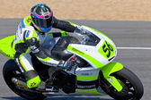 Blake Leigh-Smith pilot of Moto2 of the CEV — Stock Photo