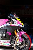Piloto de ivan moreno de moto2 del cev campeonato — Foto de Stock
