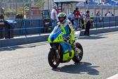 Moto2 pilot Renaud Binoche of the CEV Championship — Stock Photo
