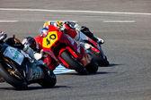 Moto2 cev 冠军的飞行员 — 图库照片
