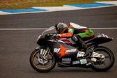 Pedro Rodriguez pilot 125cc in the CEV — Stock Photo