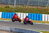 Ivan Moreno pilot of Moto2 of the CEV Championship — Stock Photo