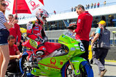 Juanfran Guevara pilot of 125cc of the CEV Championship — Photo