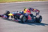 Team Red Bull Racing F1, Mark Webber, 2011 — 图库照片