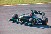 Team Lotus F1, Jarno Trulli, 2011 — Stock Photo