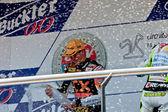 Alex Rins pilot of 125cc of the CEV Championship — Stock Photo