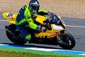 Juan eric piloto gomez de estoque extrema do campeonato cev — Foto Stock