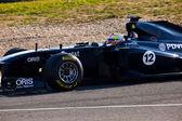 チームのウィリアムズ f1 パストール ・ マルドナド 2011 — ストック写真