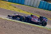 Team Toro Rosso F1, Jaime Alguersuari, 2011 — 图库照片