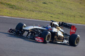 Team Lotus Renault F1, Vitaly Petrov, 2011 — Stock Photo