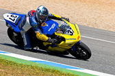 Jorge Arroyo pilot of Stock Extreme of the CEV Championship — Stock Photo
