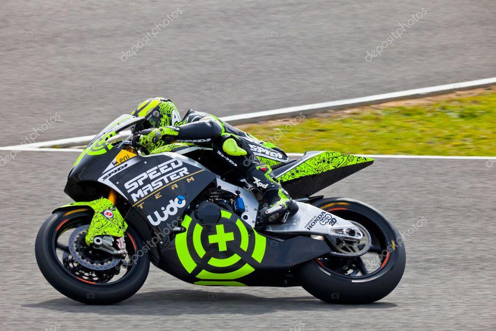 Andrea Iannone pilot of Moto2 in the MotoGP – Stock Editorial Photo © viledevil #8055911