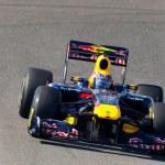 Team Red Bull Racing F1, Mark Webber, 2011 — Stock Photo #8060081