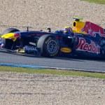 Team Red Bull Racing F1, Mark Webber, 2011 — Stock Photo #8060108