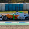 Team Force India F1, Adrian Sutil, 2011 — Stock Photo