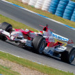 Team Toyota F1, Ricardo Zonta, 2006 — Stock Photo