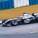 Постер, плакат: Team McLaren Mercedes F1 Pedro de la Rosa 2004