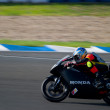 Pilot of motorcycling of 125cc in the Spanish championship of ve — Stock Photo