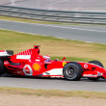Scuderia Ferrari F1, Marc Gene, 2006 — Stock Photo