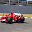 Scuderia Ferrari F1, Luca Badoer, 2006 - Stok fotoraf