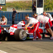 Stock Photo: Team ToyotF1, Olivier Panis, 2006