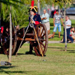Foto de Stock  : Historical military reenacting