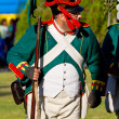 Historical military reenacting — Stockfoto #8068549