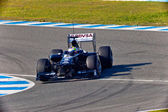 Team Williams F1, Pastor Maldonado, 2011 — Stock Photo