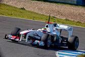 Team Sauber F1, Sergio Perez, 2011 — Stockfoto