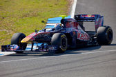 Team Toro Rosso F1, Jaime Alguersuari, 2011 — Stock Photo