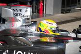 Team McLaren F1, Lewis Hamilton, 2006 — Stock Photo