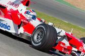 团队潘尼斯,丰田 f1 2006 — 图库照片