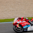 Ivan Moreno pilot of MOTO2 in the CEV - Stock Photo