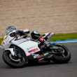 Daniel Arcas pilot of MOTO2 in the CEV — Stock Photo