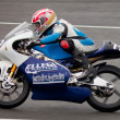 Stock Photo: Federico Fazzinpilot of 125cc in CEV