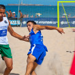 Spanish Championship of Beach Soccer , 2006 — Foto Stock
