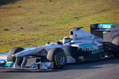 F1 mercedes, nico rosberg, da equipe 2011 — Foto Stock